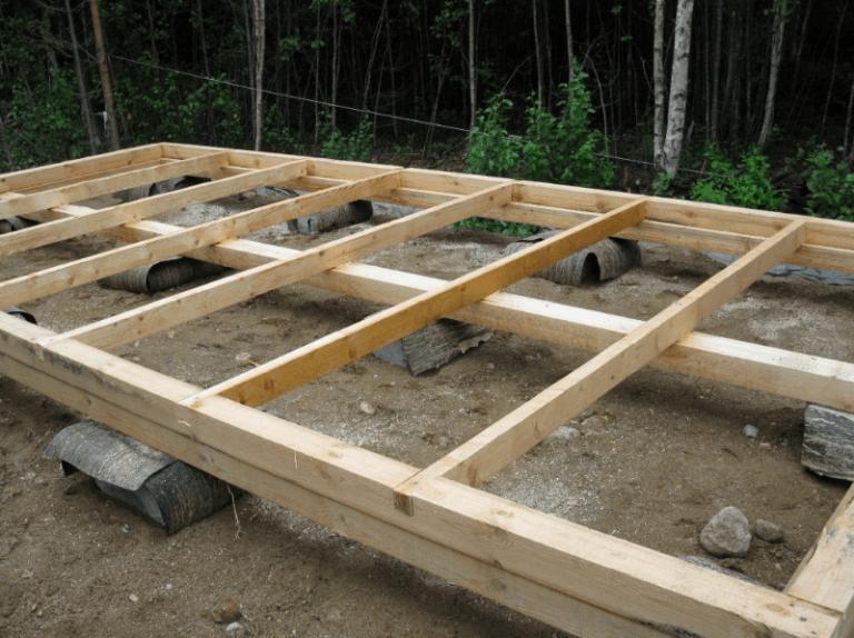 Как построить дом из досок своими руками видео