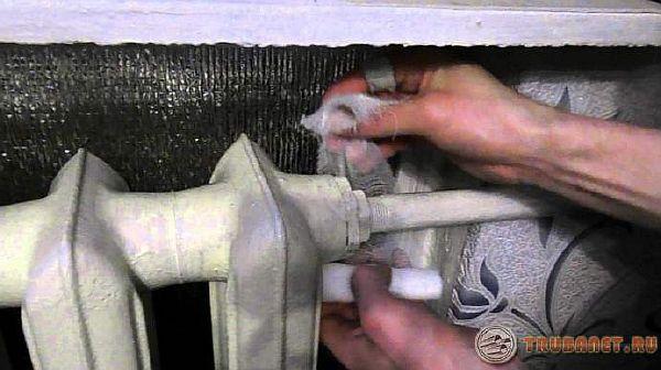 Использование клеевого бандажа