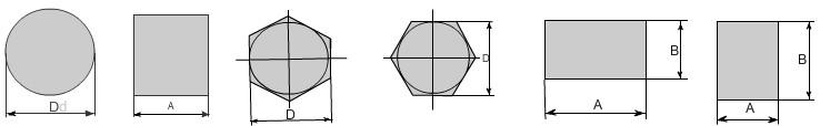 Расчет балки на прогиб/изгиб круглого, квадратного, шестигранного или прямоугольного проката - онлайн калькулятор