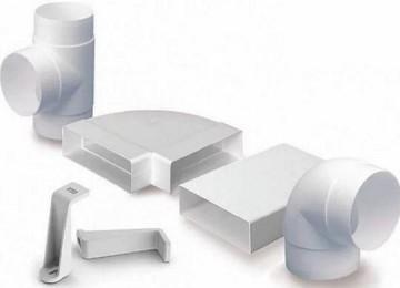 Пластиковые трубы для вытяжки и их характеристики