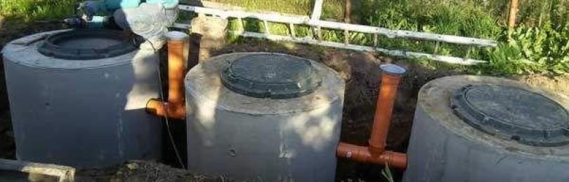 Септик из бетонных колец своими руками – пошаговая инструкция с видео материалами