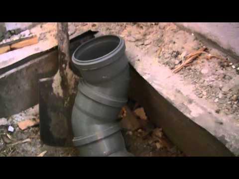 Как проложить канализационную трубу, уклоны и изгибы, канализация своими руками