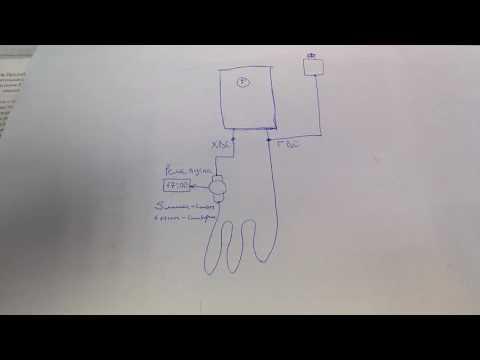 Теплый пол от электрического бойлера