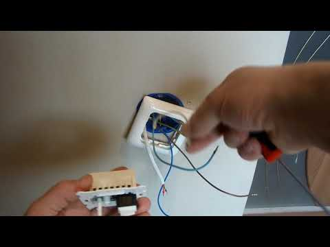 Подключение мата электрического теплого пола к терморегулятору от GRAND MEYER.
