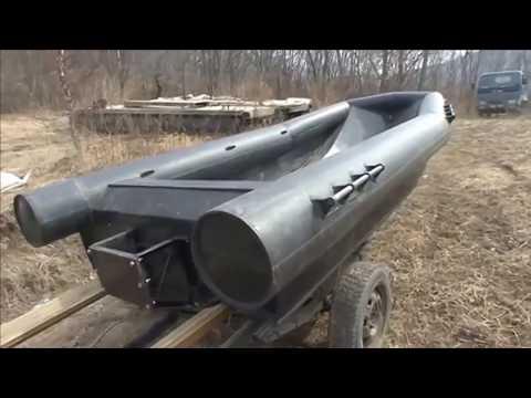 Самодельная лодка из водопроводных труб