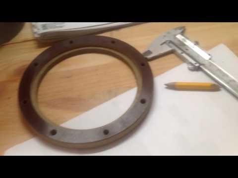 УЗВ фланцевое соединение трубы с еврокубом