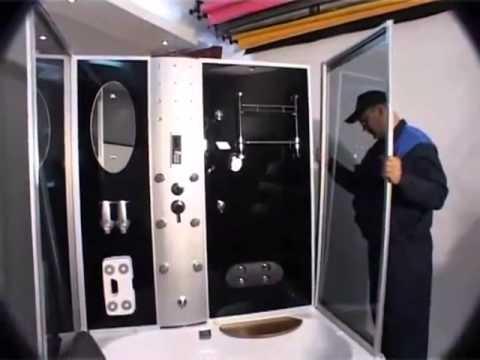 Видео Инструкция по монтажу душевой кабины