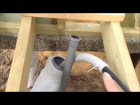 Утепление труб водоснабжения от траншеи до дома + греющий кабель