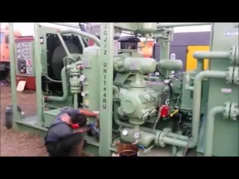 Испытание газопровода