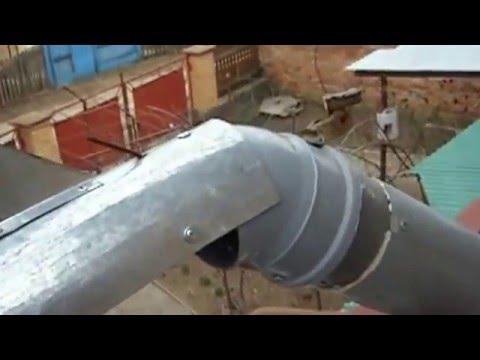 Флюгер вытяжка на вентиляцию или дымоход своими руками