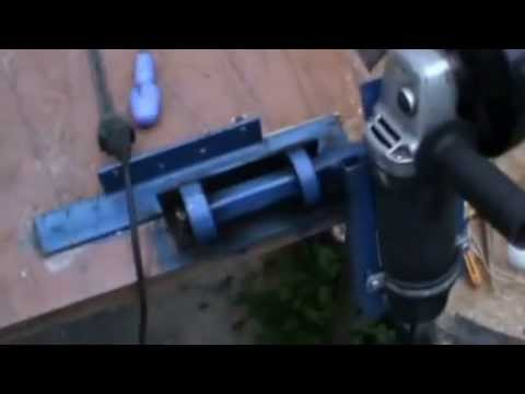 самодельный трубогиб для профильной трубы