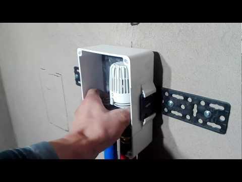 RTL клапан для управления контуром теплого пола.