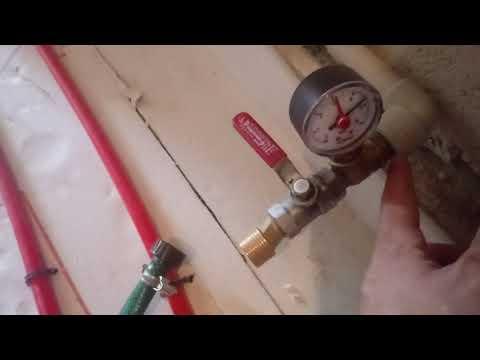 Опрессовочный насос своими руками. Как опрессовать систему отопления.