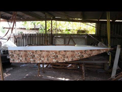 Самодельная лодка Джонбот из ПВХ