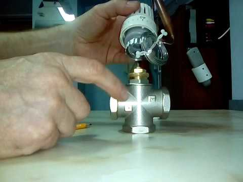 Трехходовой клапан для тёплого пола.