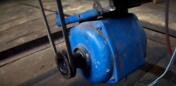 фото установки двигателя