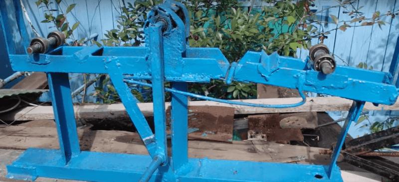 фото: Изготовление основания, и верхней площадки