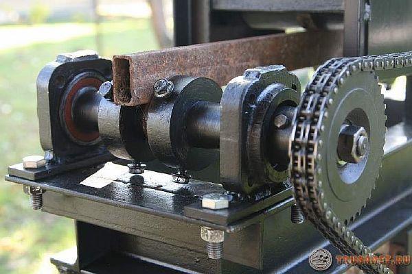 Гибочный станок своими руками для профильной трубы фото 406