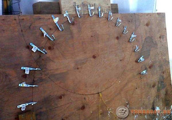 Как сделать трубогиб для круглой трубы своими руками чертежи 66