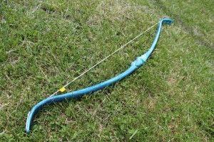 Фото: Как сделать лук с ПВХ трубы