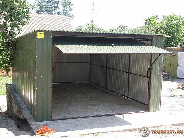 Как построить гараж из профиля куплю участок под гараж в бресте