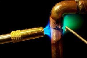 Фото: газовая горелка  чтоб паять