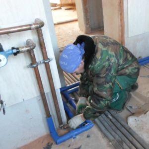 Фото: Медн. трубы отопление термоизоляция