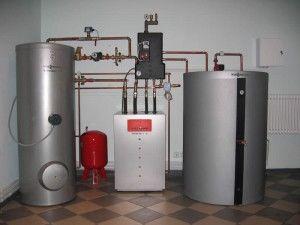 Фото: отопление без котлов батарей и труб