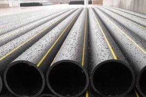 Фото: полиэтиленовые трубы для водоснабжения