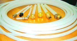 Фото – трубки из сшитого ПЭ и фитинги к ним