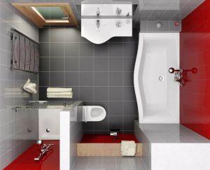Фото: Расположение и подключение сантехники в ванной и туалете