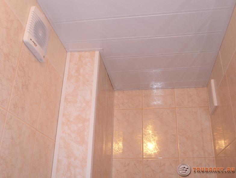 Короб в ванной своими руками из пластиковых панелей