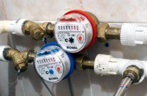 Фото: счетчики для воды