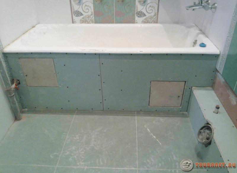 Фото: как скрыть трубы в ванной комнате