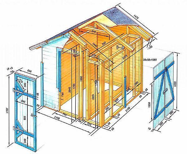 Фото: план схема гаража