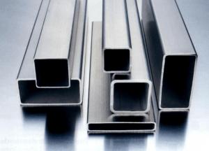Фото: зеркальные профильные трубопрокатные материалы из нержавеющий стали