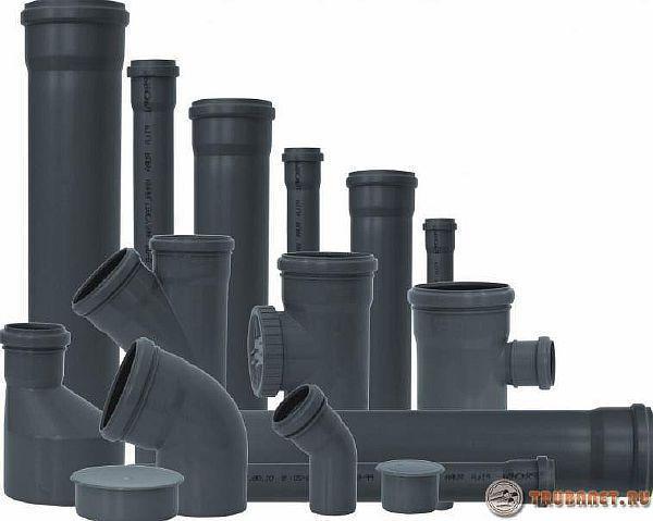 труба нпвх для наружной и внутренней канализации