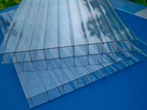 Фото: сотовый поликарбонат для обустройства изогнутых крыш арочного типа