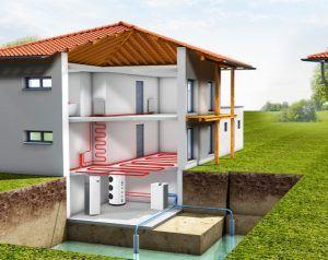 фото: Тепловой насос для отопления дома