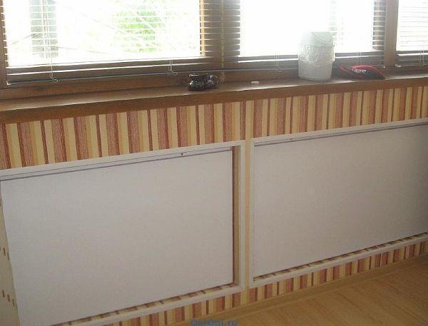 Фото – кварцевые радиаторы отопления