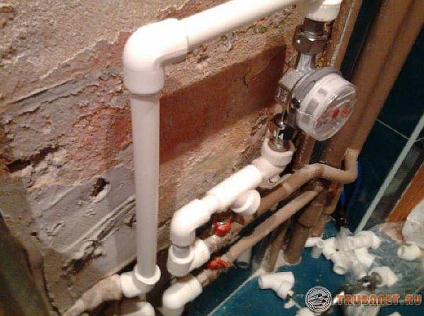 фото: Расценки на монтаж водопровода из полипропиленовых труб