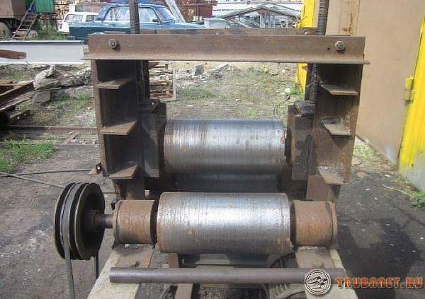 Трубогибочный обкаточный станок из стали