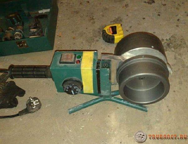 фото: аппарат для больших диаметров