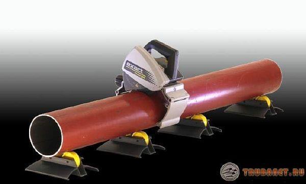 фото: электрический труборез exact pipecut 220e