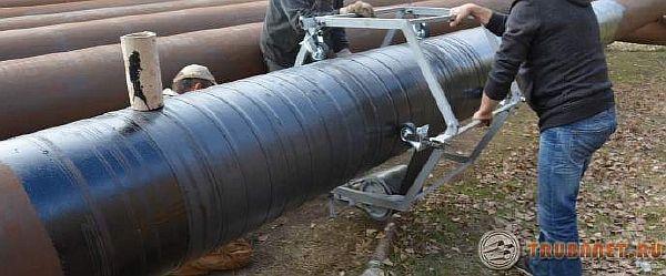 фото: трубопрокат битумно полимерный