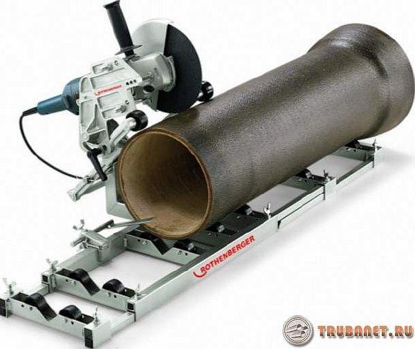 фото: Приспособление для резки стальных трубопрокатов больших диаметров