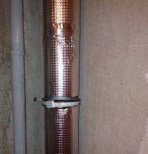 фото: Шумоизоляция труб канализации в квартире