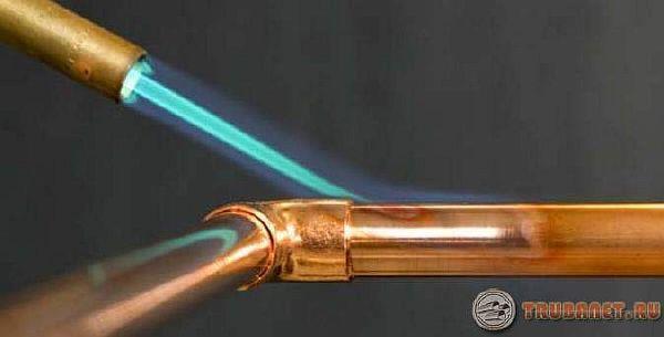 фото: как паять медные трубки для кондиционеров