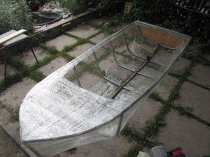 фото: лодка из труб пвх своими руками