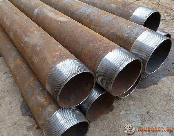 фото: стальные канализационные трубы
